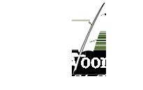 Gedicht voor jou Logo, schrijfveer
