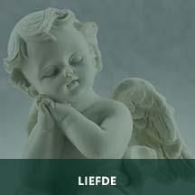 Beeldje Cupido engeltje